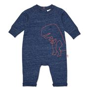 Marquise - Dinosaur French Terry Romper Blue Size 0