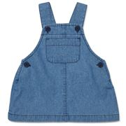 Marquise - Denim Chambray Pinafore Size 0