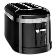 KitchenAid - Design Four Slice Long Toaster KMT5115 O/Black
