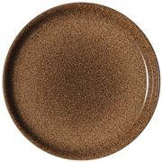 Denby - Studio Craft  Coupe Plate Chestnut Medium  21cm