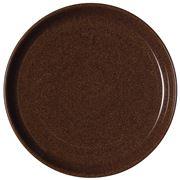 Denby - Studio Craft  Coupe Plate Walnut Medium 21cm