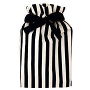 Bag All - Black and White Striped Gift Bag Medium