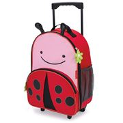 SkipHop - Zoo Kids Wheelaboard Case Ladybug