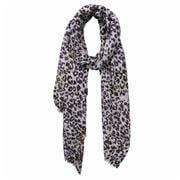 DLUX - Kenya Print Mocca Wool Silk Check Wrap