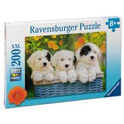 Ravensburger - Cuddly Puppies Puzzle 200pce