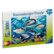 Ravensburger - Smiling Sharks Puzzle 300pce