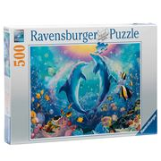 Ravensburger - Dancing Dolphins Puzzle 500pce