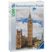 Ravensburger - Funny Cat On Big Ben Puzzle 1500pce