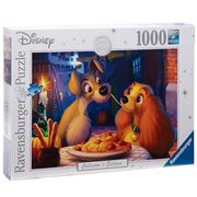 Ravensburger - Disney Moments Lady & the Tramp Puzzle 1000pc
