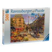Ravensburger - An Evening  Walk In Paris Puzzle 500pce