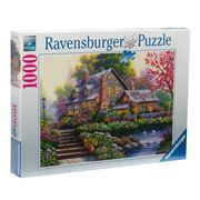 Ravensburger - Romantic Cottage Puzzle 1000pce