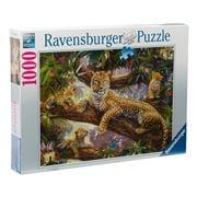 Ravensburger - Leopard Family Puzzle 1000pce