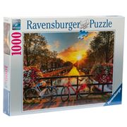 Ravensburger - Bicycles In Amsterdam Puzzle 1000pce