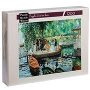 Puzzle Michèle Wilson - Renoir The Frog Pond Puzzle 1200pce