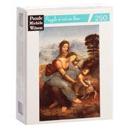 Puzzle Michèle Wilson - Virgin, Child w/St Anne Puzzle 250pc