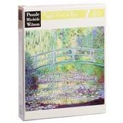 Puzzle Michèle Wilson - Japanese Bridge Monet Puzzle 80pc