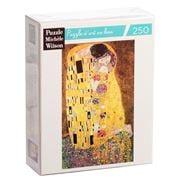 Puzzle Michèle Wilson - The Kiss Klimt Puzzle 250pce