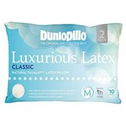 Dunlopillo - Luxurious Latex Classic Med. Profile Pillow 2pc