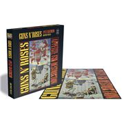 Rock Saws - Guns N'Roses Appetite 4 Destruction Puzzle 500pc