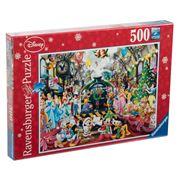 Ravensburger - Disney Christmas Train Puzzle 500pc