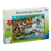 Ravensburger - Day At The Zoo Puzzle 35pce