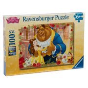 Ravensburger - Disney Belle & Beast Puzzle  100pce