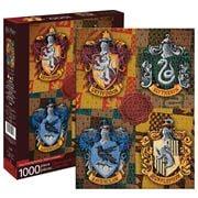 Aquarius - Harry Potter Hogwarts Crests Puzzle 1000pce