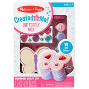 Melissa & Doug - Decorate Your Own Wooden Butterfly Box