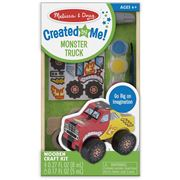 Melissa & Doug - Created By Me Monster Truck Kit 39pce