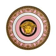 Rosenthal - Versace Medusa Colours Rose Plate 18cm
