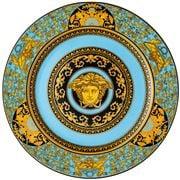 Rosenthal - Versace Medusa Colours Service Plate Celeste