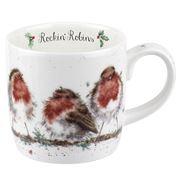 Royal Worcester - Wrendale Rockin Robins Mug