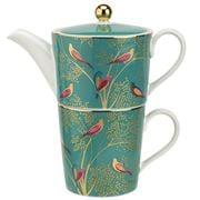 Portmeirion - Sara Miller Chelsea Tea For One Green 350ml