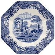 Spode - Blue Italian Octagonal Platter 35.5cm