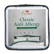 Tontine - Luxe Classic Anti Allergy Mattress Protector Queen