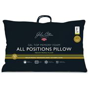 John Cotton - M/Foam All Positions Med. Profile/Firm Pillow