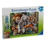 Ravensburger - Big Cat Nap Puzzle 200pce