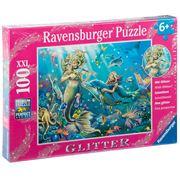 Ravensburger - Underwater Beauties w/Glitter Puzzle 100pce