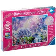 Ravensburger - Unicorn Kingdom Puzzle Glitter 100pce