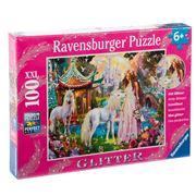 Ravensburger - Unicorn World Glitter Puzzle 100pce