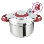 Tefal - ClipsoMinut Perfect Pressure Cooker 9L w/Bonus Set