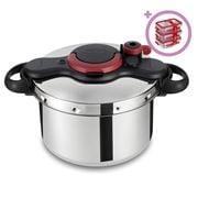 Tefal - ClipsoMinut Easy Pressure Cooker 7.5L w/Bonus Set