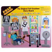 Felt Creations - Hospital Story Board