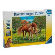 Ravensburger - Horses In The Field Puzzle 100pce