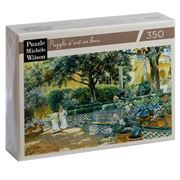 Puzzle Michèle Wilson - The Gardens Of L'Alcazar 350pce