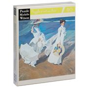 Puzzle Michèle Wilson - Women Walking on the Beach 80pce
