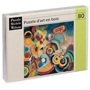Puzzle Michèle Wilson - Hommage à Blériot Puzzle 80pce