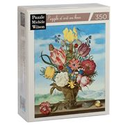 Puzzle Michèle Wilson - Bouquet In Front Of The Window 350pc
