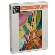 Puzzle Michèle Wilson - Eiffel Tower Delaunay Puzzle 150pce