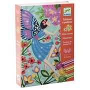 Djeco - The Gentle Life Of Fairies Glitter Boards